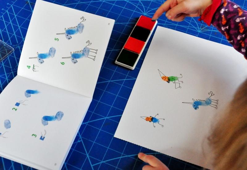 Sonstige/Basteln, Malen & Kreativ:Fingerstempeln