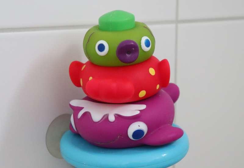 Simba/Baby- & Kleinkindspielzeug:Stapel-Badespaß