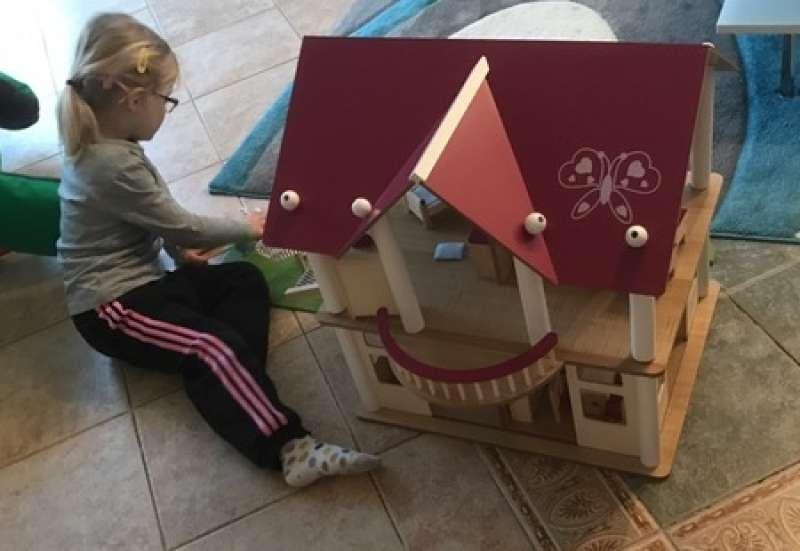 Eine Villa aus Holz