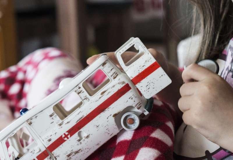 Masha und der Krankenwagen