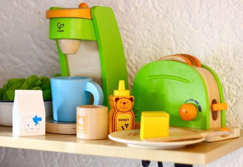 Sonstige/Kinder Rollenspiele:Frühstücks-Set von HAPE