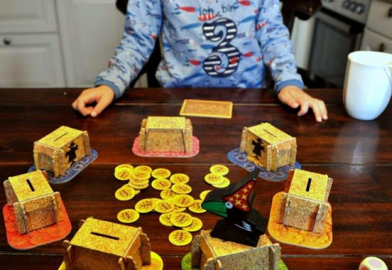 Noris/Spiele & Puzzles:Die verrückte Vogelscheuche