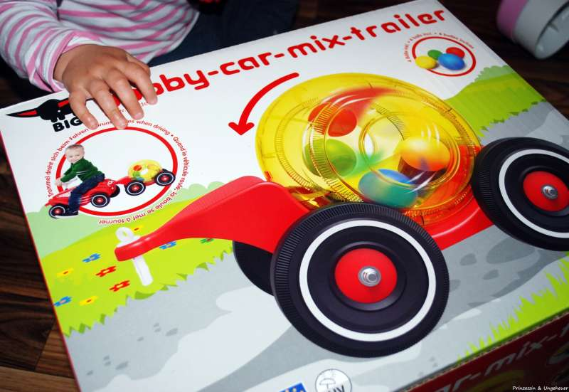 BIG/Kinderfahrzeuge (z. B. Bobby Car):Bobby-Car Mix-Trailer