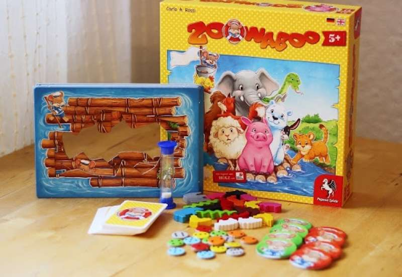 Sonstige/Spiele & Puzzles:Tierischer Spielspaß
