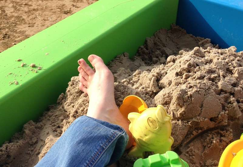 BIG/Outdoor & Sport:BIG Sandkasten Sandpit im Test