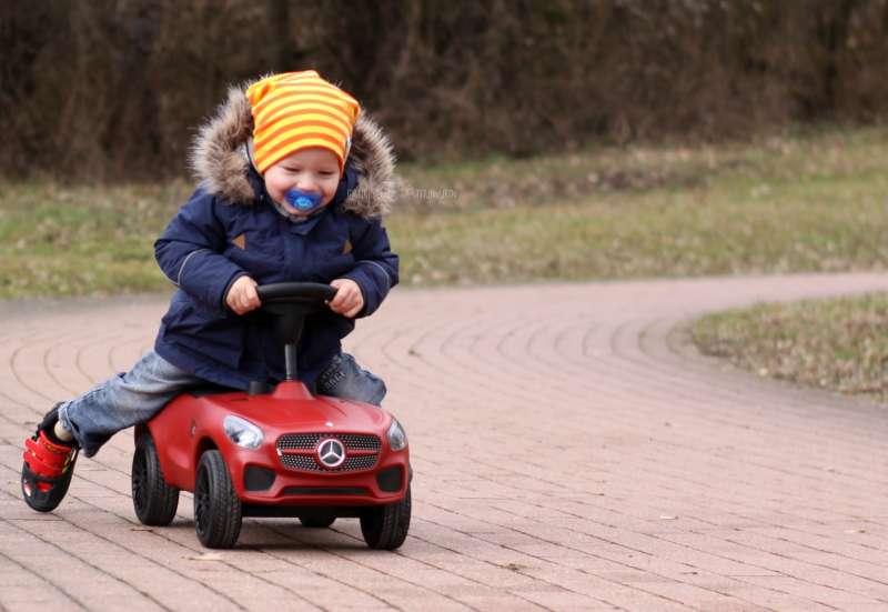 BIG/Kinderfahrzeuge (z. B. Bobby Car):Bobby Car Mercedes Benz AMG GT
