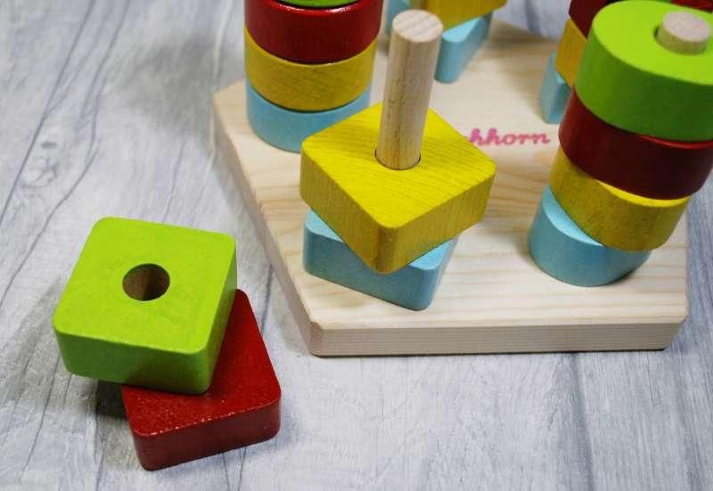 Eichhorn/Baby- & Kleinkindspielzeug:Eichhorn - Steckplatte
