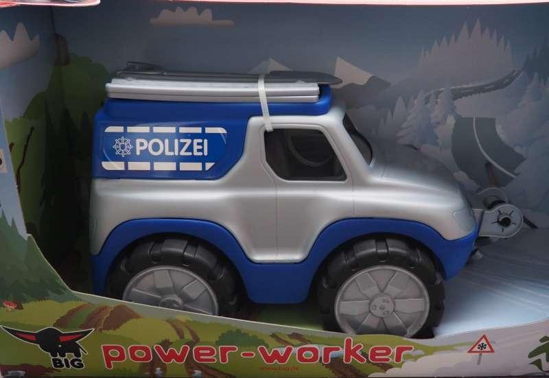 BIG/Autos, Fahrzeuge, Boote & Flieger:BIG Power Worker Polizei