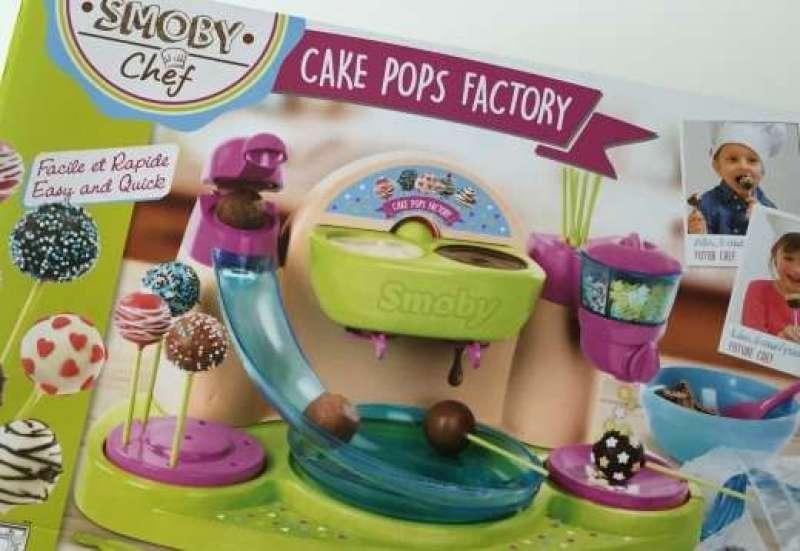 Smoby/Baby- & Kleinkindspielzeug:Smoby Cake Pops Bäckerei