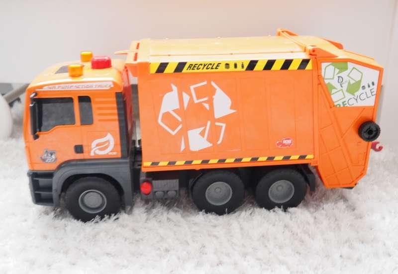 Dickie Toys/Autos, Fahrzeuge, Boote & Flieger:Müllwagen ° Garbage Truck von
