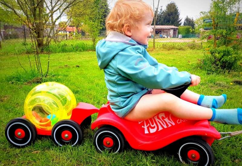 BIG/Kinderfahrzeuge (z. B. Bobby Car):Der Bobby-Car-Mixtrailer