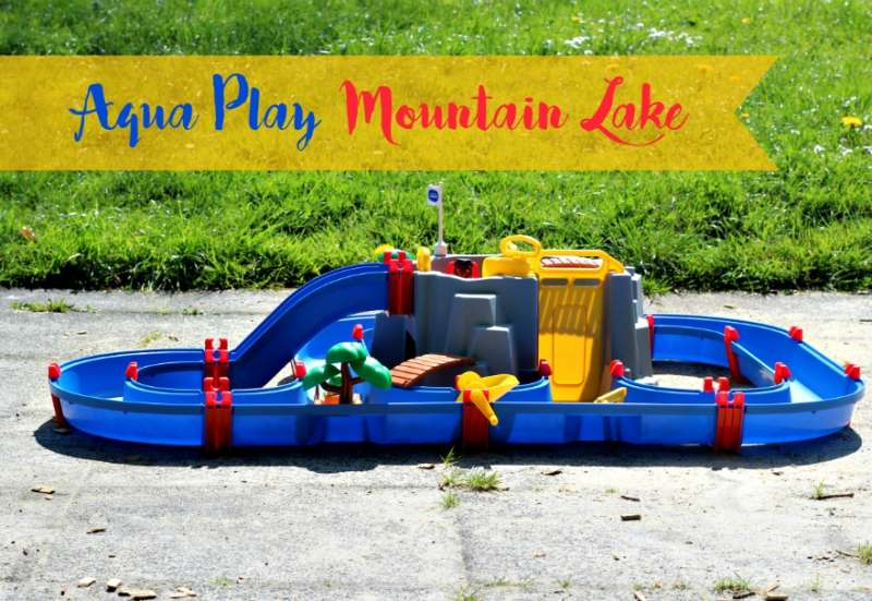 AuqaPlay/Outdoor & Sport:Aqua Play Mountain Lake