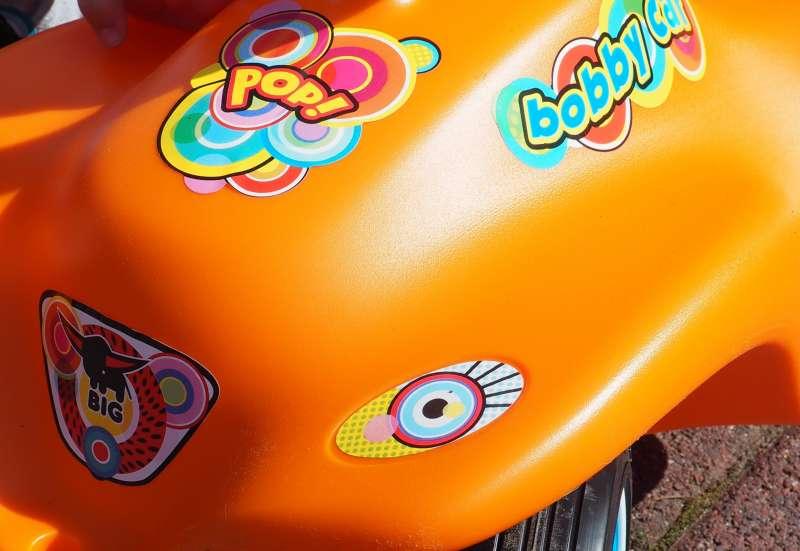 BIG/Kinderfahrzeuge (z. B. Bobby Car):BIG * New Bobby Car ° Pop °