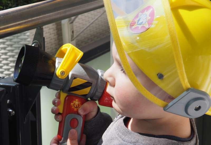 Kleiner Feuerwehrman Maxi