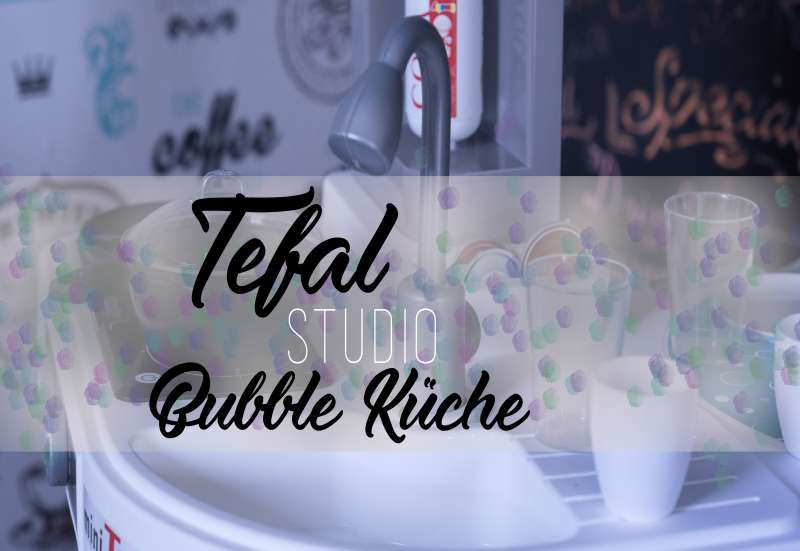 Smoby/Kinder Rollenspiele:Die Tefal Studio Bubble Küche