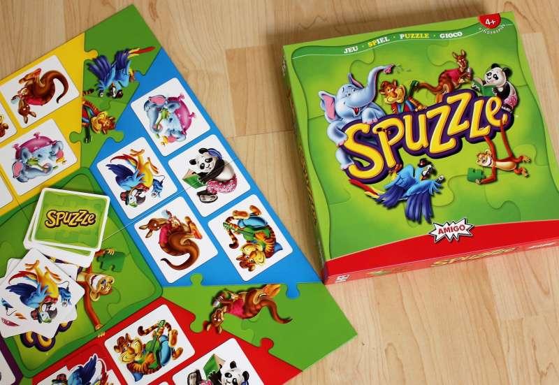 AMIGO/Spiele & Puzzles:Komm, Spuzzle mit mir!