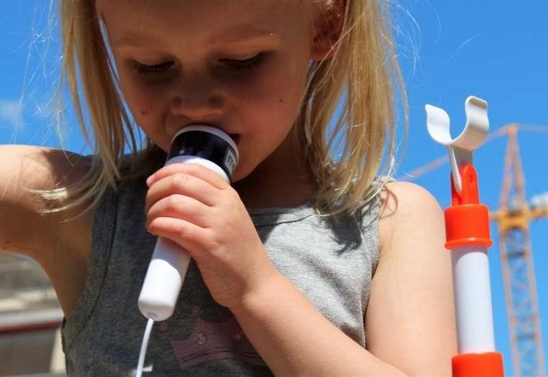 Kindermikro mit Musikstation