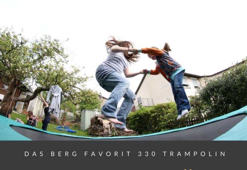 Sonstige/Outdoor & Sport:Das BERG Favorit 330 Trampolin