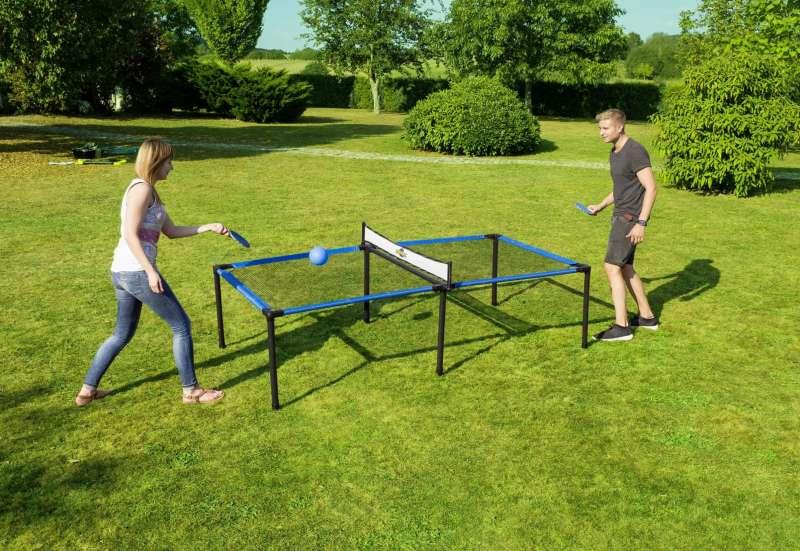 Sonstige/Outdoor & Sport:Tischtennis- und Badminton-Set