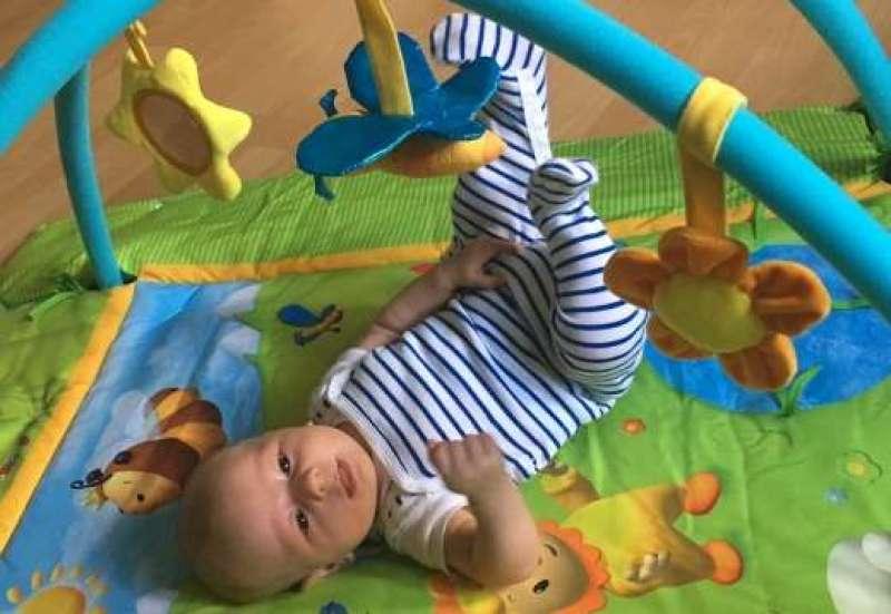Smoby/Baby- & Kleinkindspielzeug:Cotoons Erlebnisdecke
