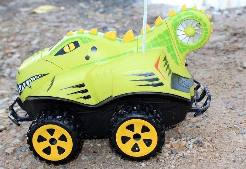 Dickie Toys/Autos, Fahrzeuge, Boote & Flieger:Fährt & schwimmt: Dino Basher