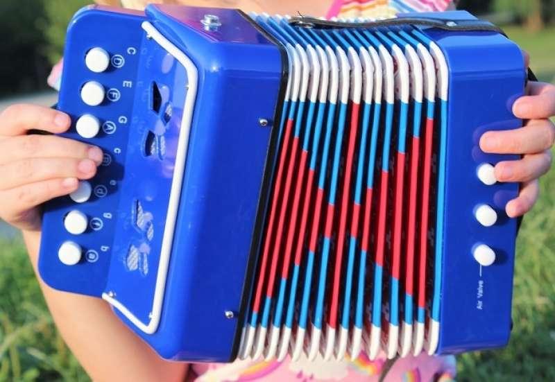 Simba/Instrumente & Musikspielzeug:Kinderakkordeon: Musik an!