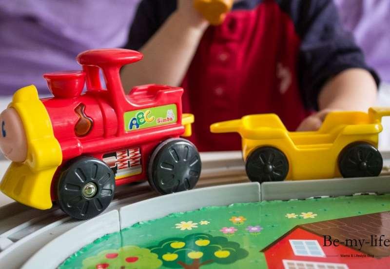 Simba/Baby- & Kleinkindspielzeug:ABC Tiereisenbahn Set