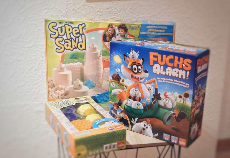 GOLIATH GAMES/Basteln, Malen & Kreativ:Fuchs Alarm & Super Sand