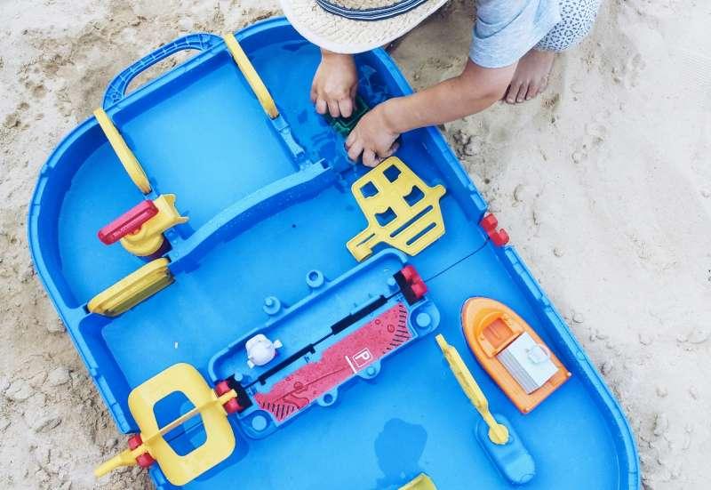 Die Mega Lock Box von Aquaplay