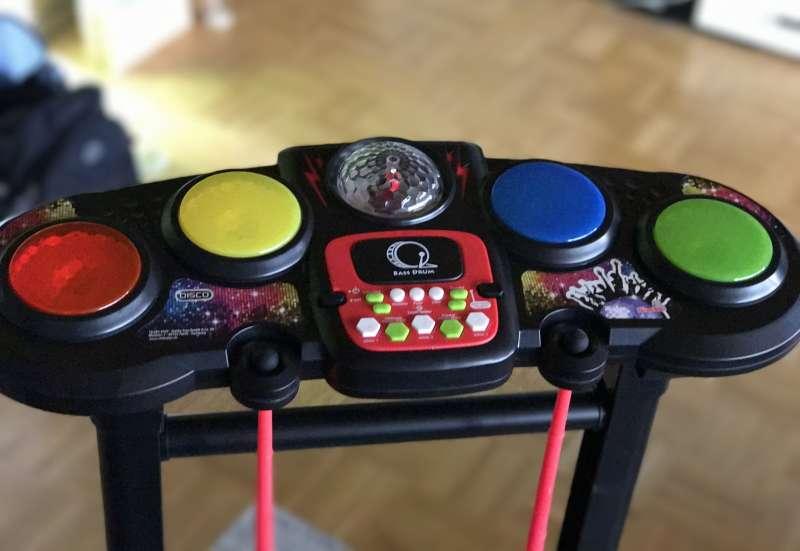 Simba/Instrumente & Musikspielzeug:Drums&Base für kleine Musiker