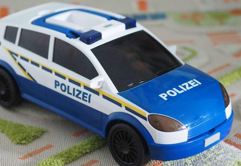 Majorette/Autos, Fahrzeuge, Boote & Flieger:Polizei Aufbewahrungsbox ° Car