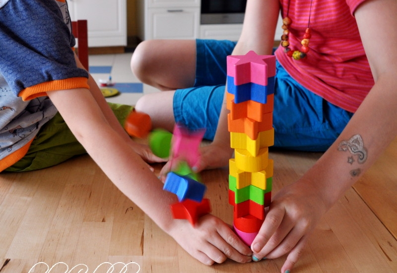 Noris/Spiele & Puzzles:Raben Stapeln mit Schnabelgrün