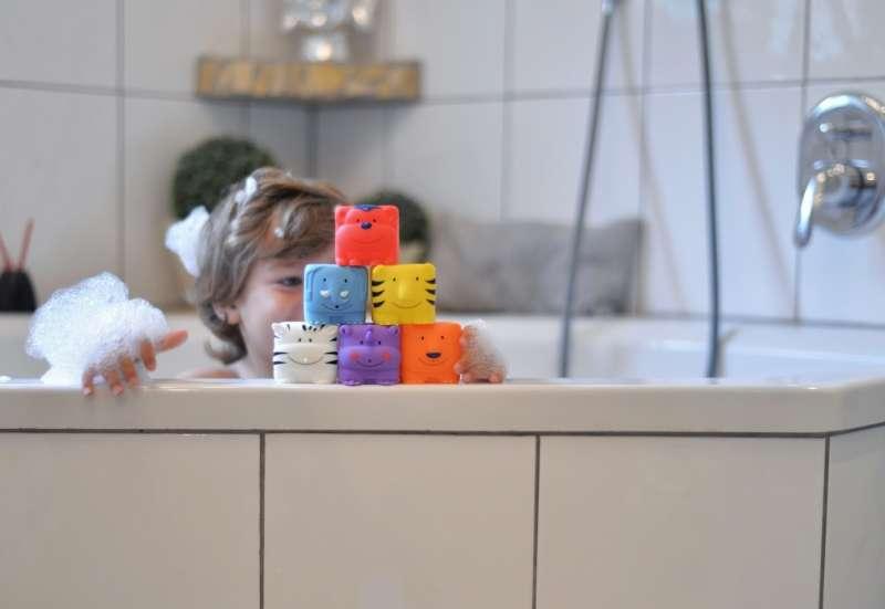 Simba/Baby- & Kleinkindspielzeug:Die ABC-Stapelwürfeltiere