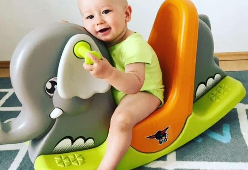 BIG/Baby- & Kleinkindspielzeug:BIG Rocking-Elephant