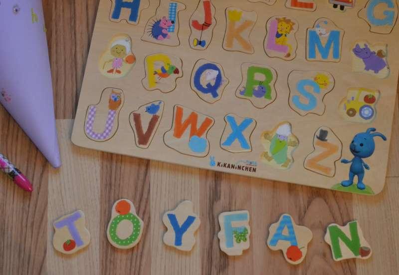 Eichhorn/Spiele & Puzzles:Das Kikaninchen ABC Puzzle