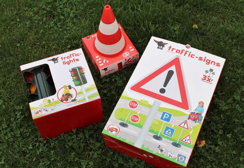 BIG/Outdoor & Sport:Traffic School Sets von BIG
