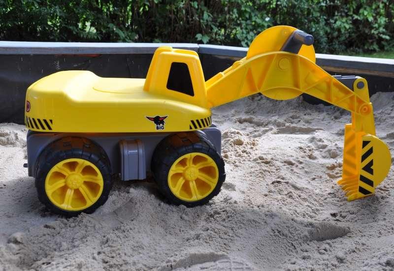 BIG/Autos, Fahrzeuge, Boote & Flieger:BIG Power Worker Maxi Digger