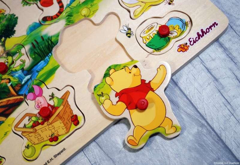 Eichhorn/Baby- & Kleinkindspielzeug:Steckpuzzle - Winnie the Pooh