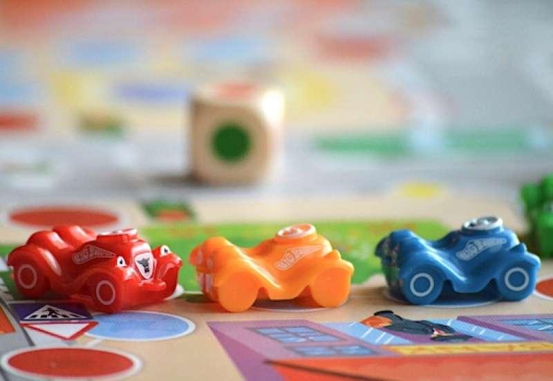 Noris/Spiele & Puzzles:BIG Bobby Car Spiel von Noris