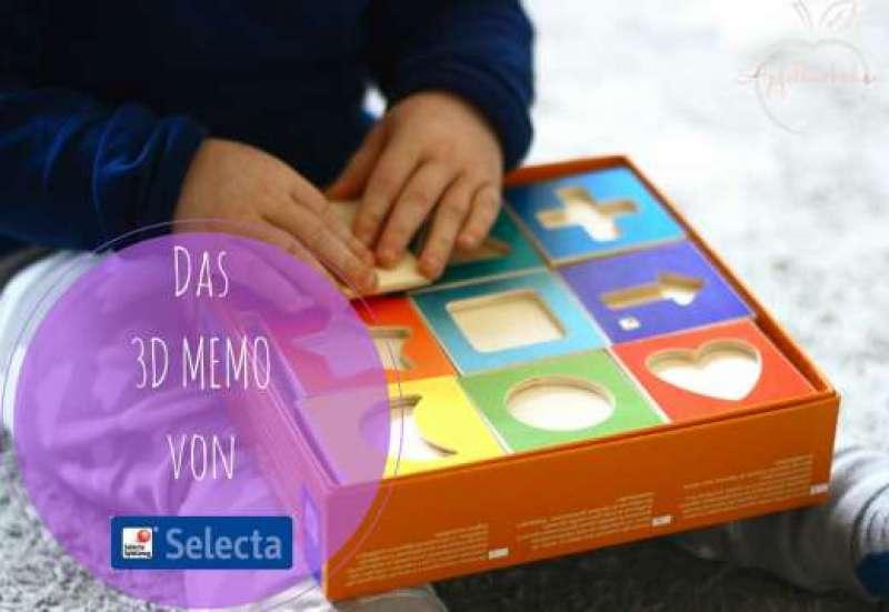 Sonstige/Spiele & Puzzles:3D MEMO von Selecta