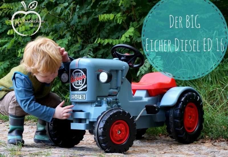 BIG/Autos, Fahrzeuge, Boote & Flieger:Der BIG Eicher Diesel ED 16