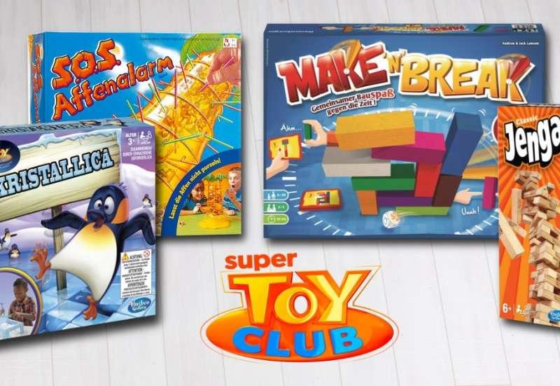 Sonstige/Spiele & Puzzles:Spiele aus dem Super Toy Club
