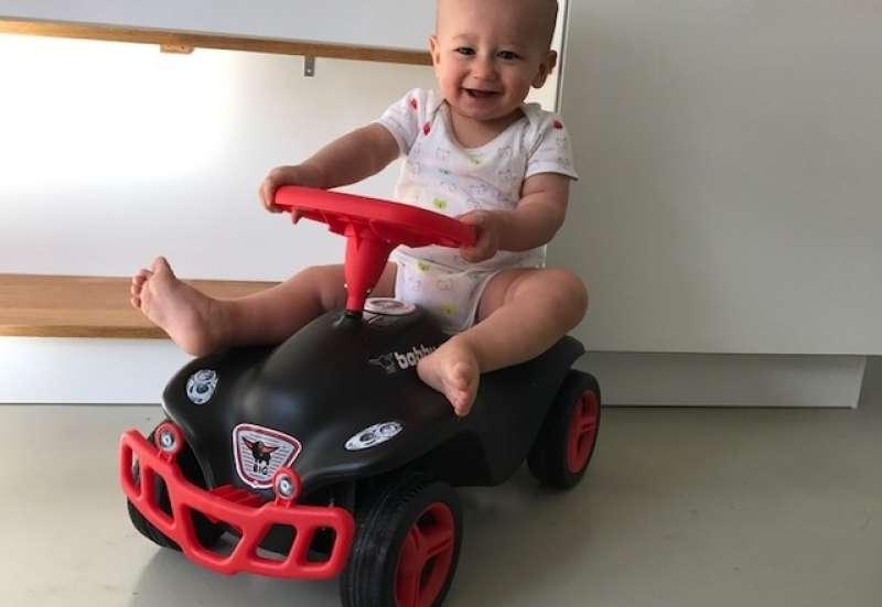 BIG/Kinderfahrzeuge (z. B. Bobby Car):BIG Bobby Car mit Sportausstattung