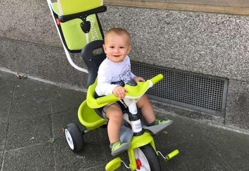 Smoby/Kinderfahrzeuge (z. B. Bobby Car):Dreirad Baby Balade 3 in 1 von Smoby
