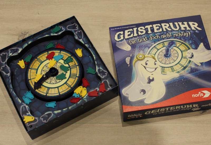 Noris/Spiele & Puzzles:Total verrückt - Geisteruhr