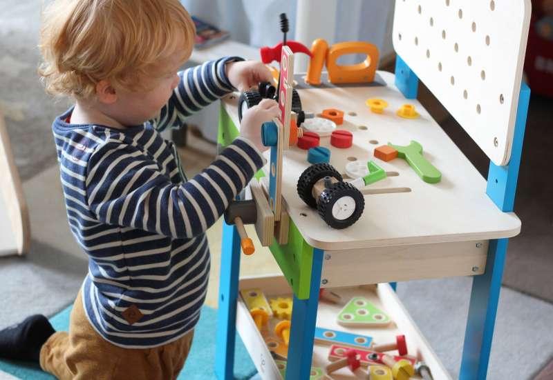HAPE/Bauen & Konstruieren:Die Hape Meister Werkbank