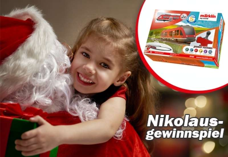 Nikolausgewinnspiel bei Märklin!