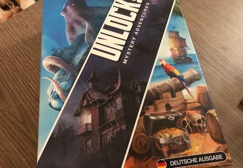 ASMODEE EDITIONS/Spiele & Puzzles:Unlock! Escape-Abenteuer