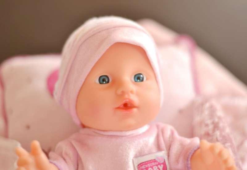 Simba/Puppen & Puppenzubehör:Die süße Baby Kuschelweich