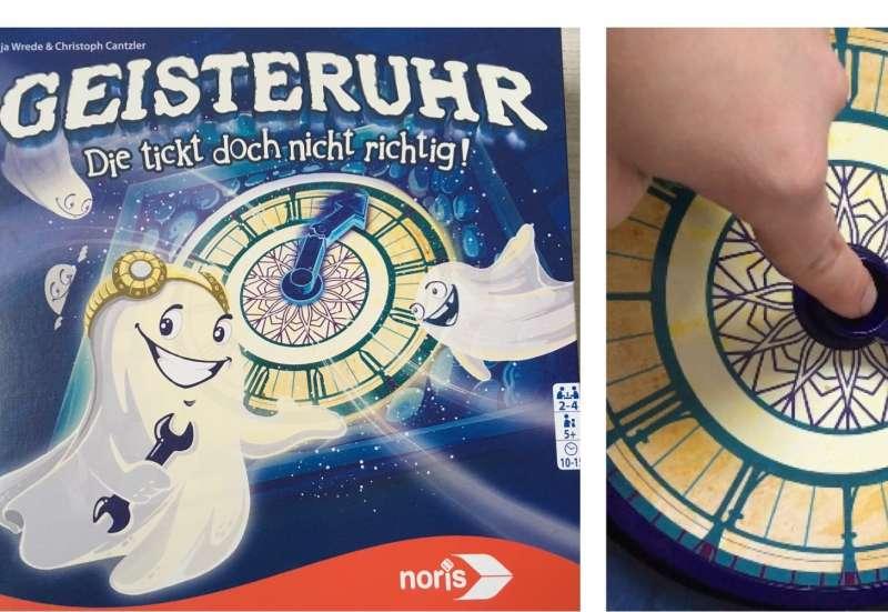 """Spiel """"Geisteruhr"""" von Noris"""